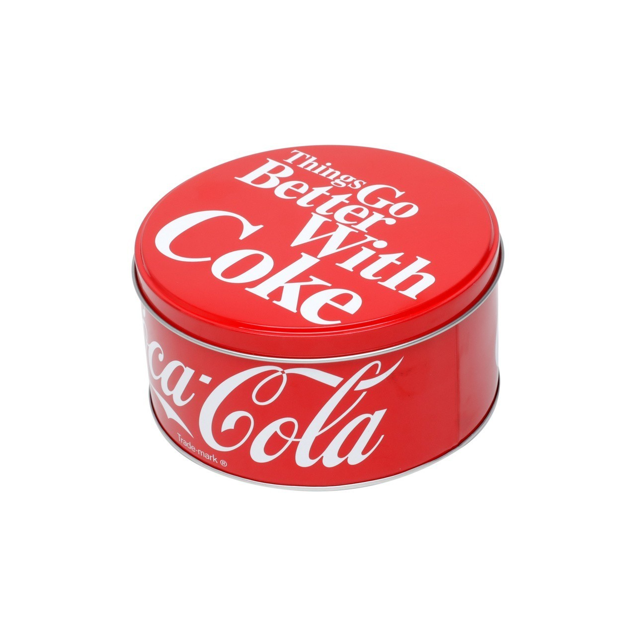 Pote de Biscoito Redondo Pequeno: Coca Cola - Urban