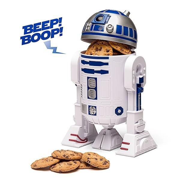 Pote de Biscoitos Star Wars R2-D2 Falante - ThinkGeek