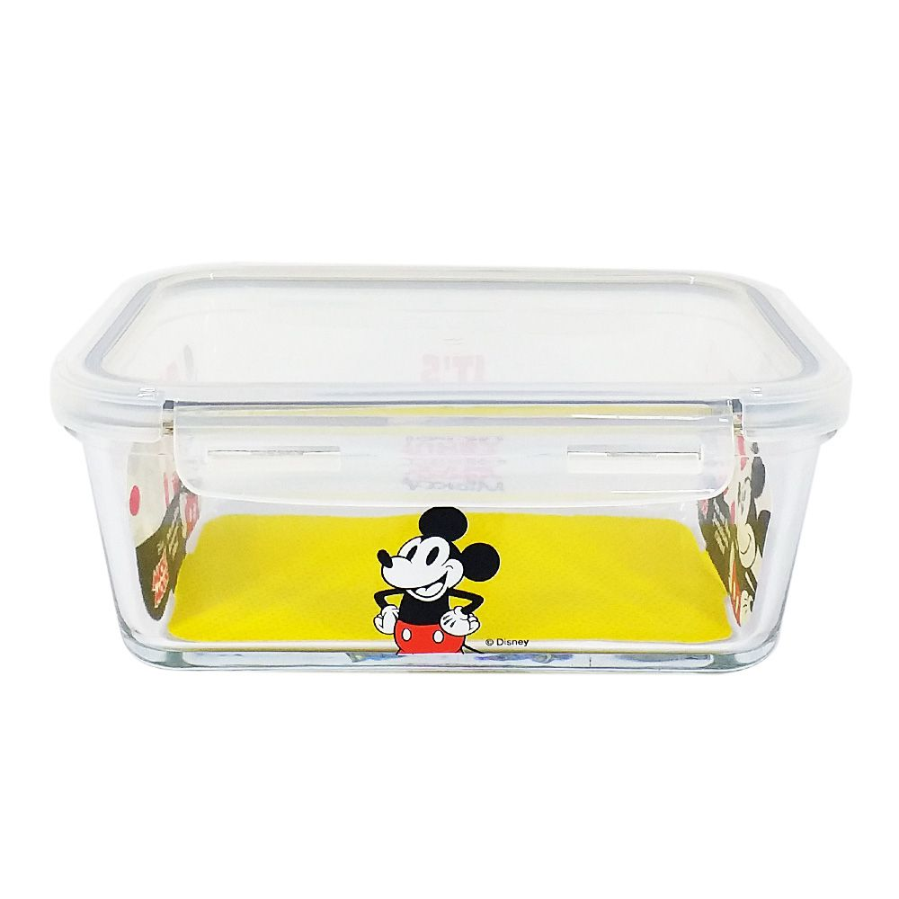Pote de Vidro Com Tampa e Trava (1500ml): It's All About Mickey - Disney