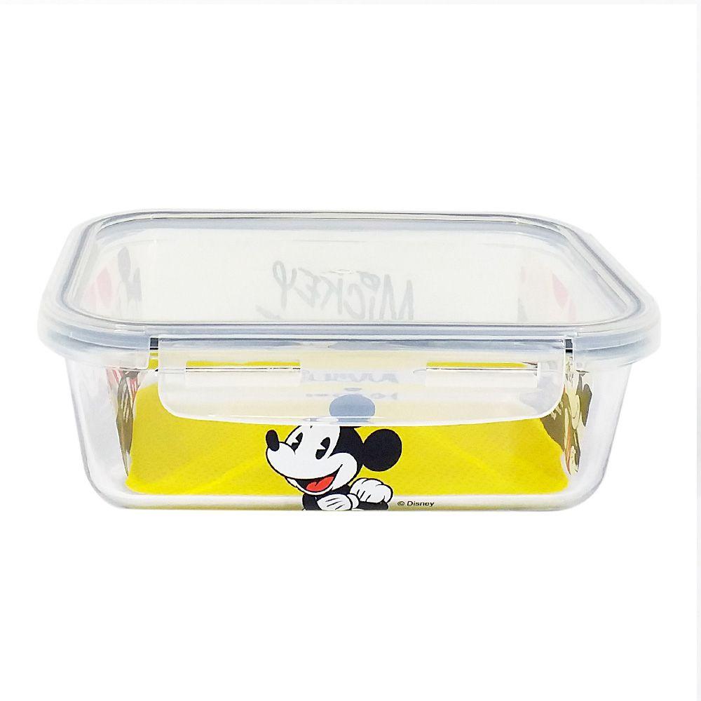 Pote de Vidro Com Tampa e Trava (1500ml): Mickey Mouse - Disney