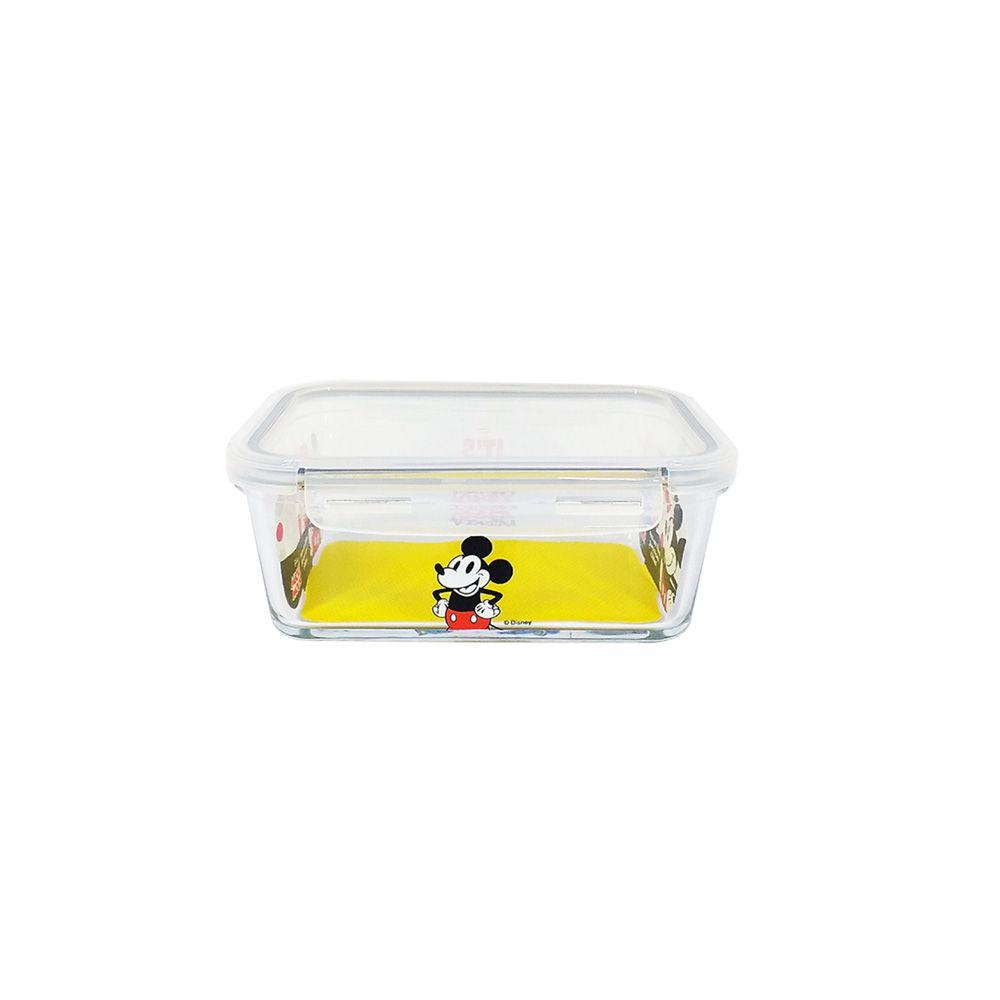 Pote de Vidro Com Tampa e Trava (400ml): It's All About Mickey - Disney