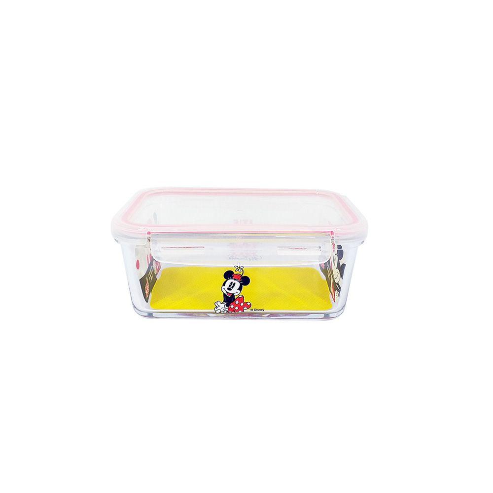 Pote de Vidro Com Tampa e Trava (400ml): It's All About Minnie - Disney