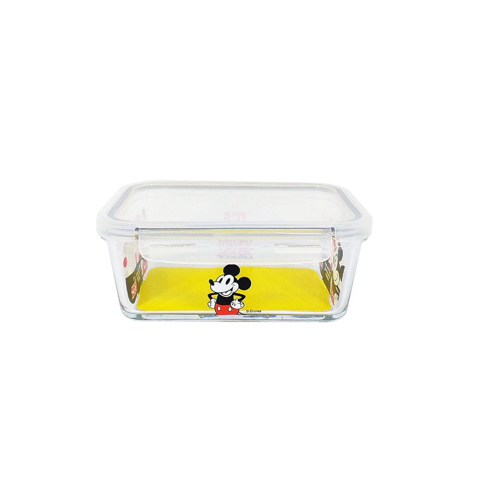 Pote de Vidro Com Tampa e Trava (590ml): It's All About Mickey - Disney
