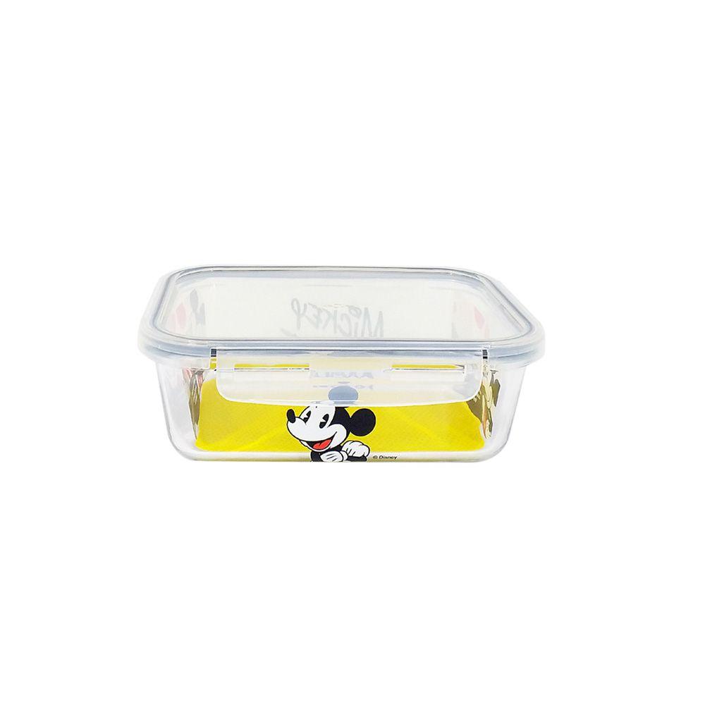 Pote de Vidro Com Tampa e Trava (590ml): Mickey Mouse - Disney