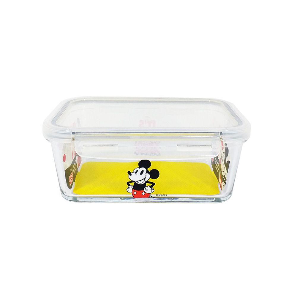 Pote de Vidro Com Tampa e Trava (800ml): It's All About Mickey- Disney