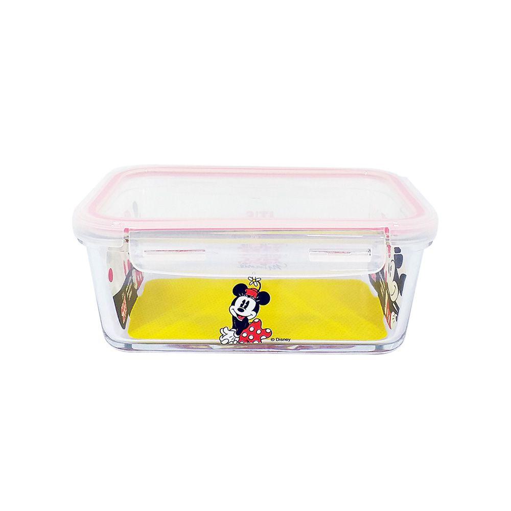 Pote de Vidro Com Tampa e Trava (800ml): It's All About Minnie - Disney