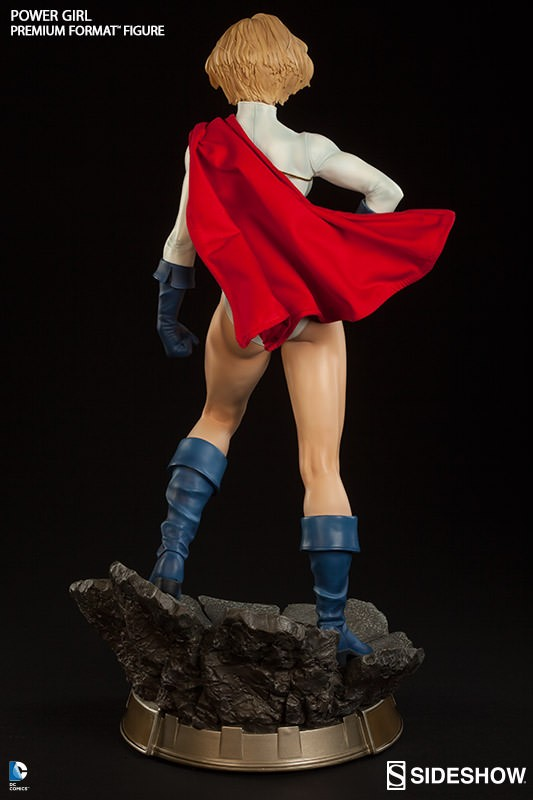 Power Girl Premium Format - Sideshow