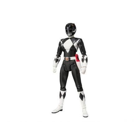 Power Rangers SHFiguarts Ranger Preto - Bandai