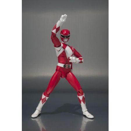 Power Rangers SHFiguarts Ranger Vermelho - Bandai