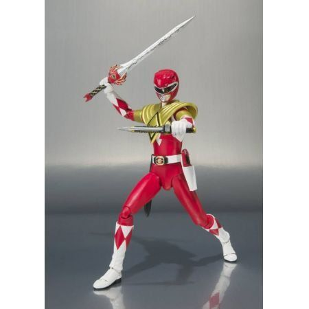 Power Rangers SHFiguarts Ranger Vermelho de Armadura - Bandai
