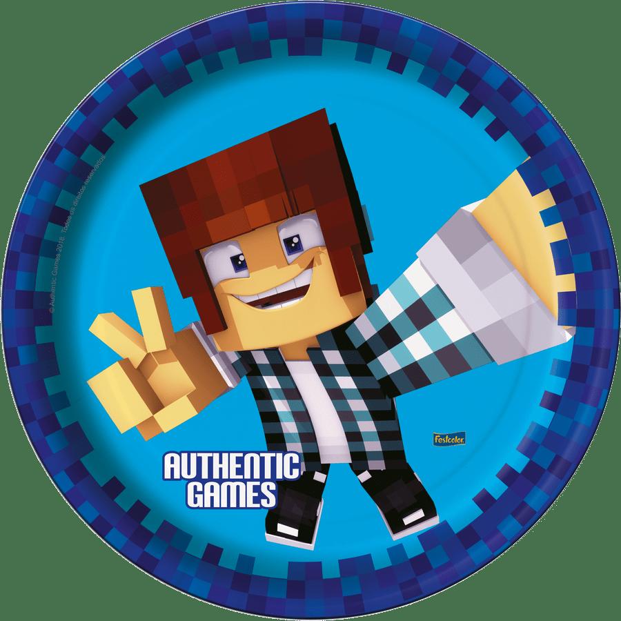 Prato de Papel: Authentic Games - Festcolor
