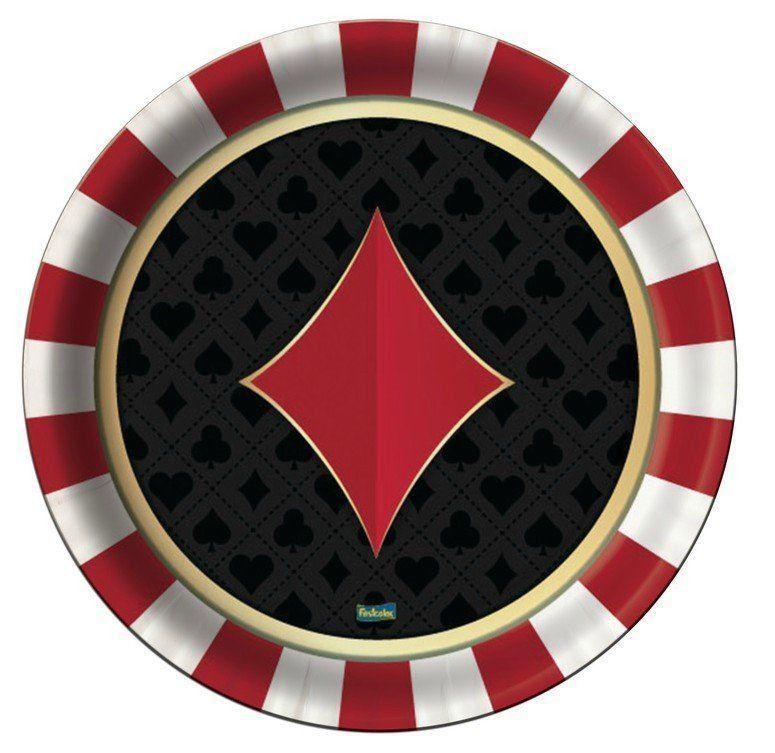 Prato de Papel: Vegas - Festcolor