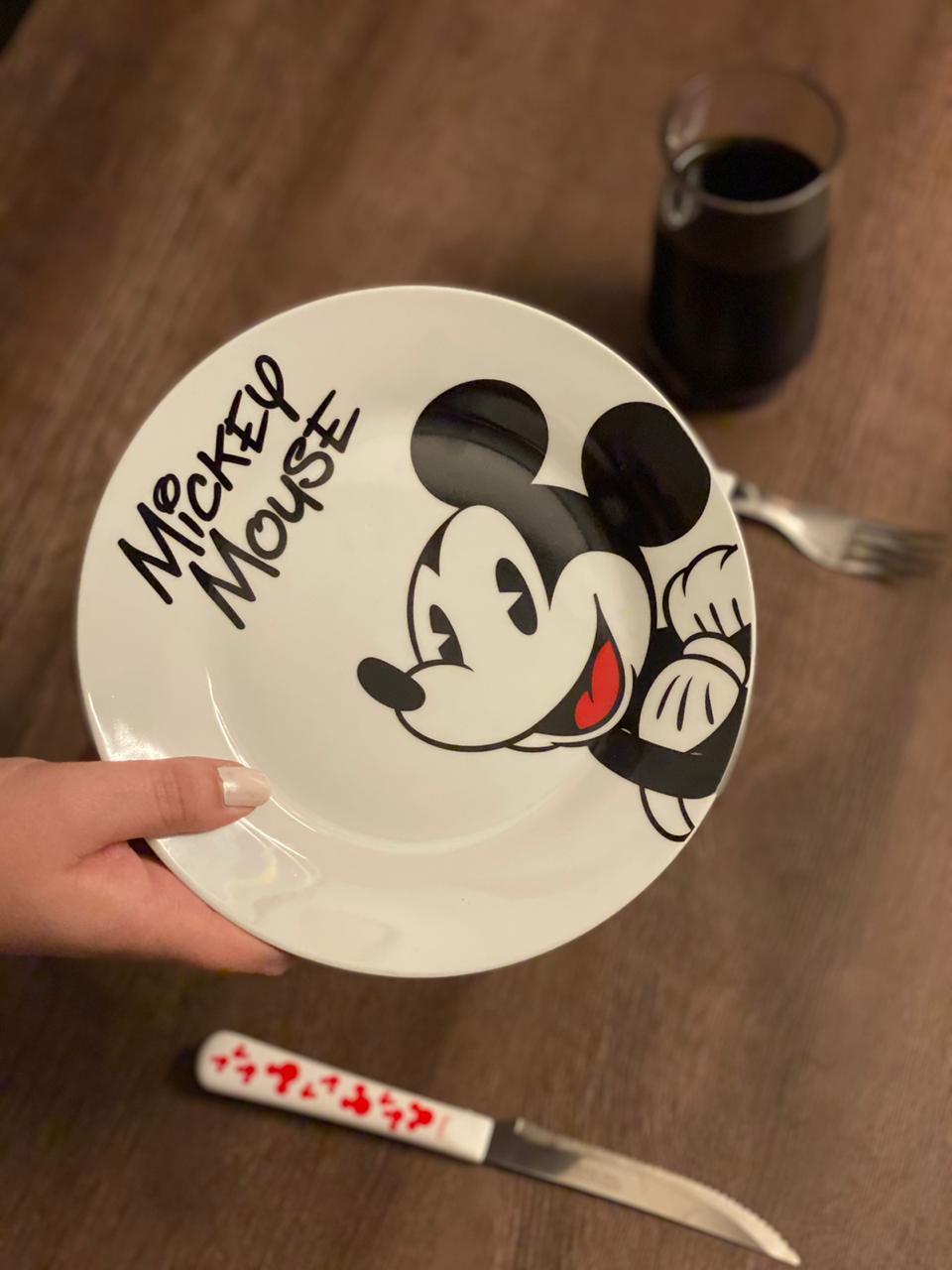 Prato de Sobremesa Mickey Mouse: Disney