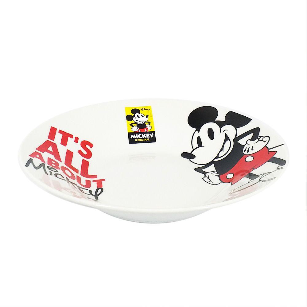 Prato Fundo Mickey Mouse (It´s All About Mickey): Disney  - Toyshow Geek e Colecionáveis Tudo em Marvel DC Netflix Vídeo Games