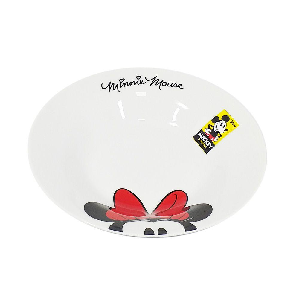 Prato Fundo Minnie Mouse: Disney