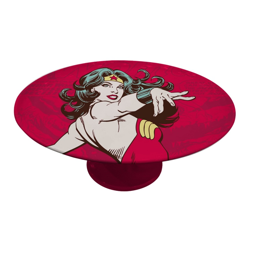 Prato Giratório Mulher Maravilha - Dc Comics