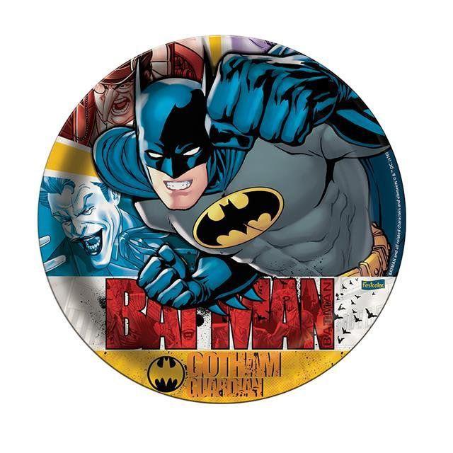 Prato Papel Batman 2016 - Festcolor