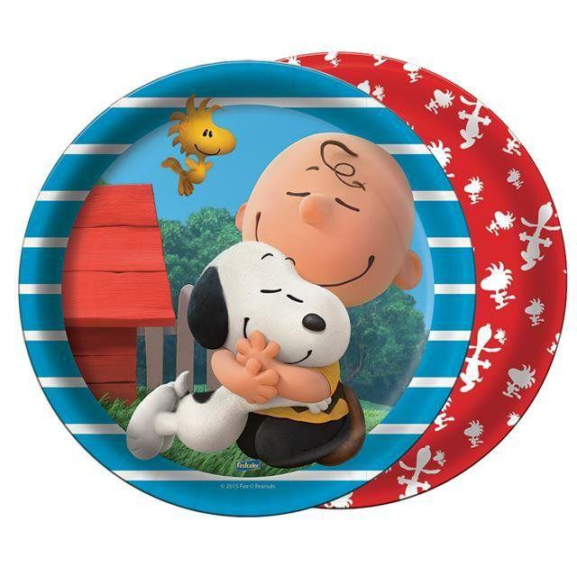 Prato Papel Snoopy - Festcolor
