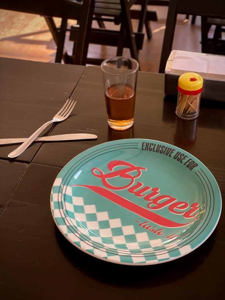 Prato Raso Exclusive Use For Burger - Taste It! Verde - EV
