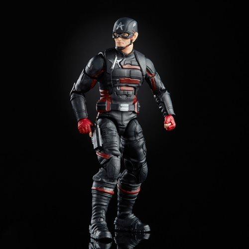 PRÉ VENDA: Action Figure Agente Americano Biuld A Figure Falcão Disney Plus Marvel Legends Series - Hasbro