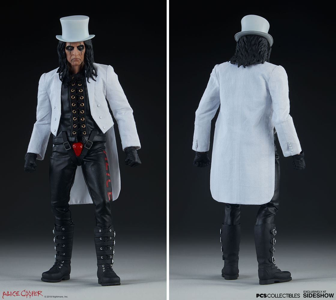 PRÉ VENDA: Action Figure Alice Cooper (Escala1/6) - Pop Culture Shock