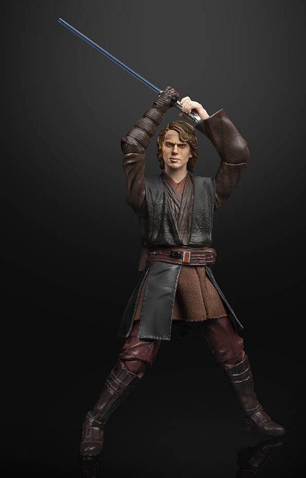 Action Figure Anakin Skywalker: Star Wars (Black Series Archive) - Boneco Colecionável - Hasbro Inc