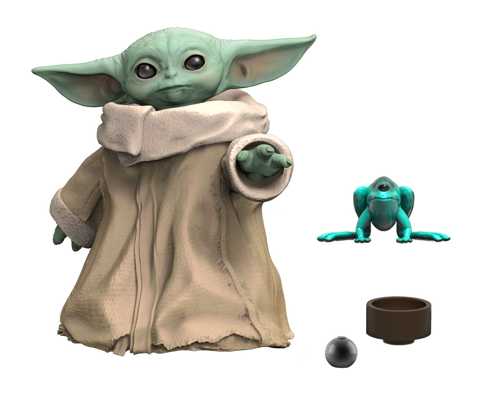 Action Figure Grogu ''Baby Yoda'' (The Child): The Mandaloria (Star Wars) The Black Series F1203 (Boneco Colecionável) - Hasbro
