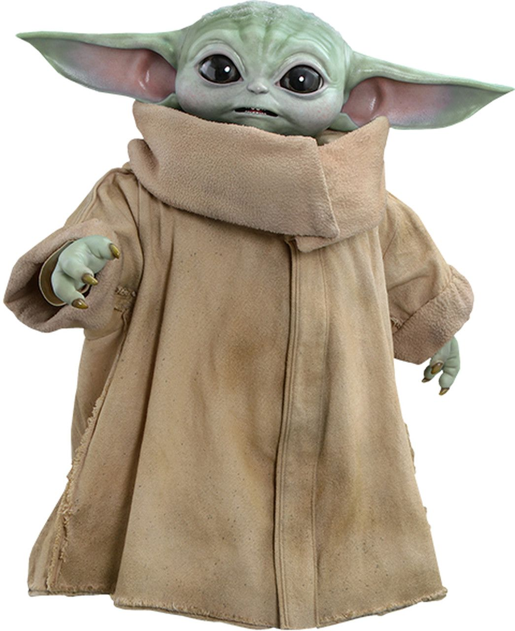 PRÉ VENDA: Action Figure Baby Yoda (The Child): The Mandalorian (Star Wars) Life-Size Masterpiece Series (LMS013) - Hot Toys
