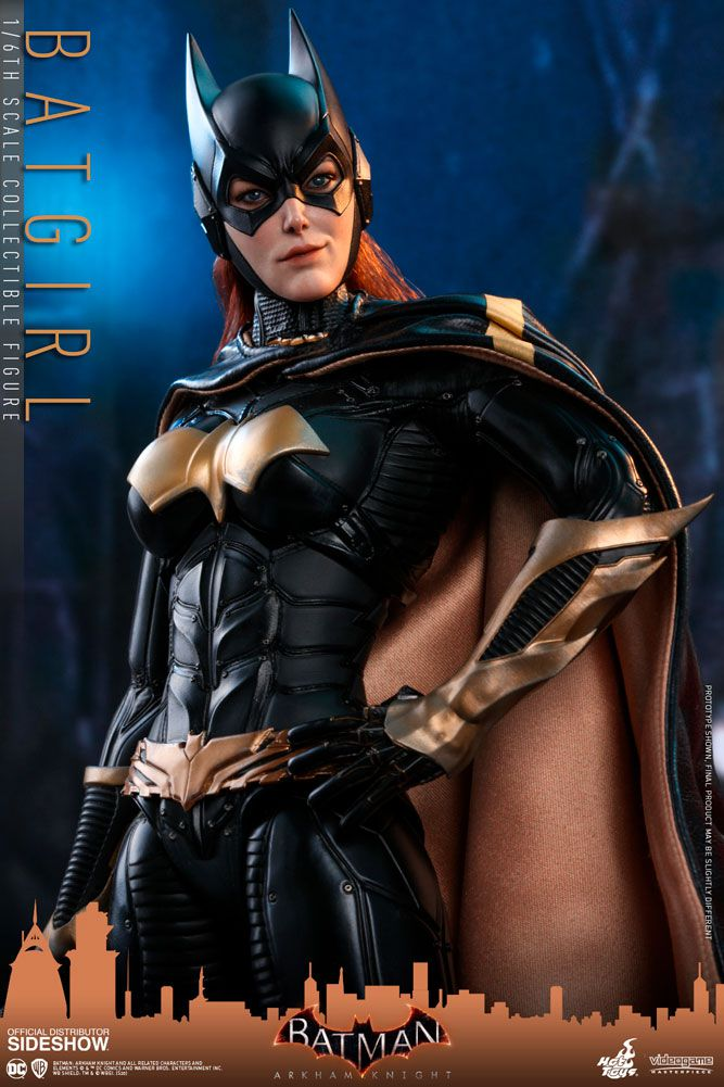 PRÉ VENDA: Action Figure Batgirl: Batman Arkam Knight (Video Game Masterpiece Series) Escala 1/6 - Hot Toys