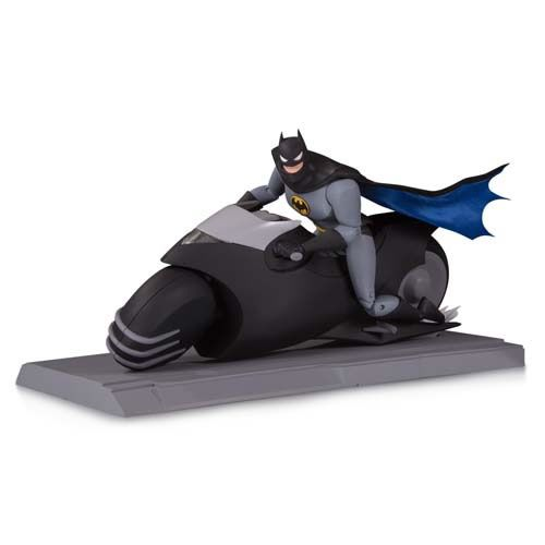Action Figure Batman na Batcicleta (Batman on Batcycle) The Animated Series (Boneco Colecionável) - DC Collectibles
