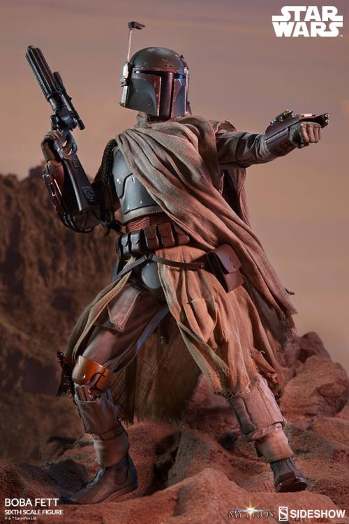 PRÉ VENDA: Action Figure Boba Fett: Star Wars Mythos Collection Escala 1/6 - Sideshow Collectibles