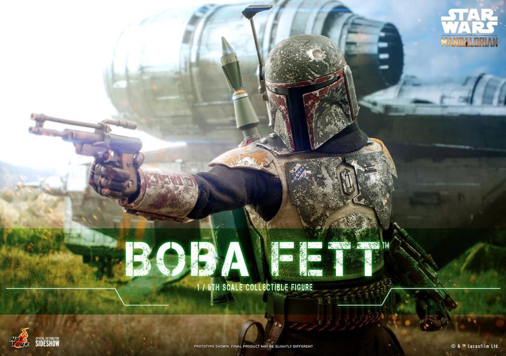 PRÉ VENDA: Action Figure Boba Fett: The Mandalorian TMS033 Escala 1/6 - Hot Toys
