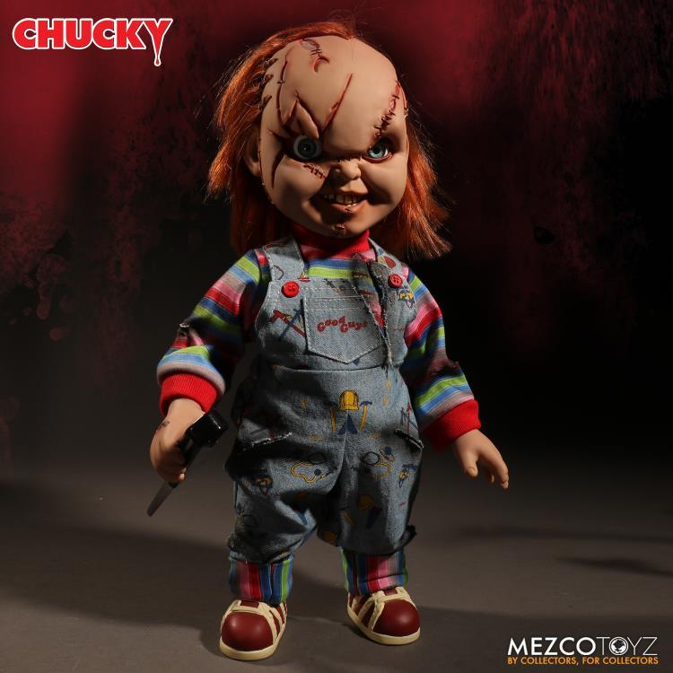 PRÉ VENDA: Action Figure Boneco Talking Chucky Que Fala: A Noiva de Chucky - Mezco