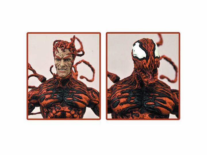 PRÉ VENDA Action Figure Carnificina (Carnage): Marvel Select - Boneco Colecionável - Diamond Select