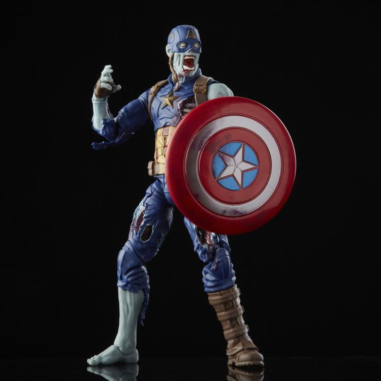 PRÉ VENDA: Action Figure Colecionável Capitão América Zumbi: What If...? Marvel Legends Serie - Hasbro