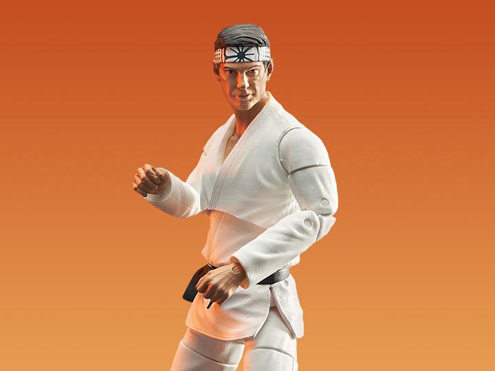PRÉ VENDA: Action Figure Colecionável Danny LaRusso: Cobra Kai The Karate Kid - Diamond Select Toys
