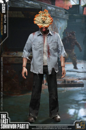 PRÉ VENDA: Action Figure Colecionável Estalo Clicker: The Last of Us Parte II Escala 1/6 CC Toys - EVALI