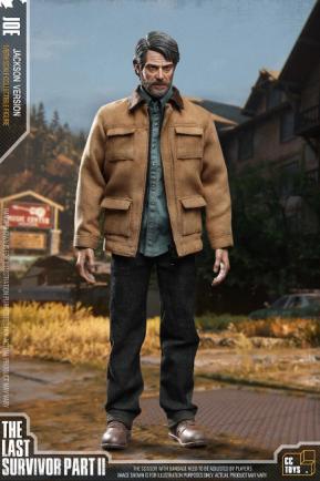 PRÉ VENDA: Action Figure Colecionável  Joel: The Last of Us Parte II Escala 1/6 CC Toys - EVALI
