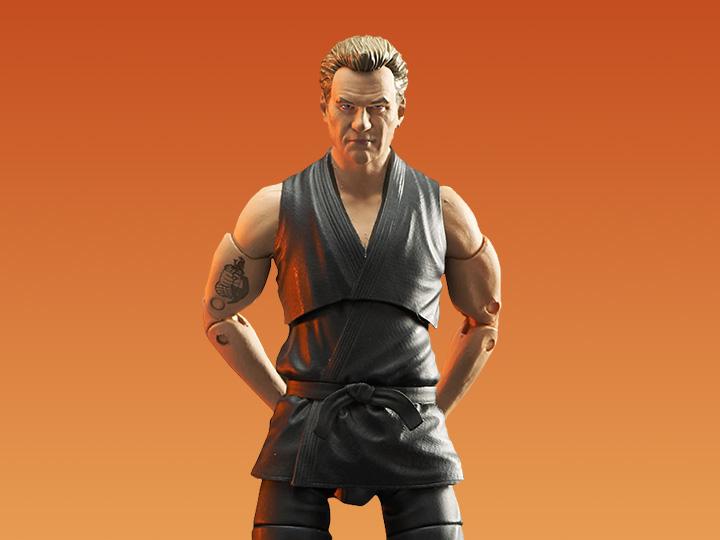 PRÉ VENDA: Action Figure Colecionável John Kreese: Cobra Kai The Karate Kid - Diamond Select Toys