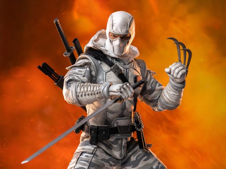 PRÉ VENDA: Action Figure Colecionável Storm Shadow (Camo): G.I. Joe FigZero Escala 1/6 PX Previews Exclusive Figure - Hasbro