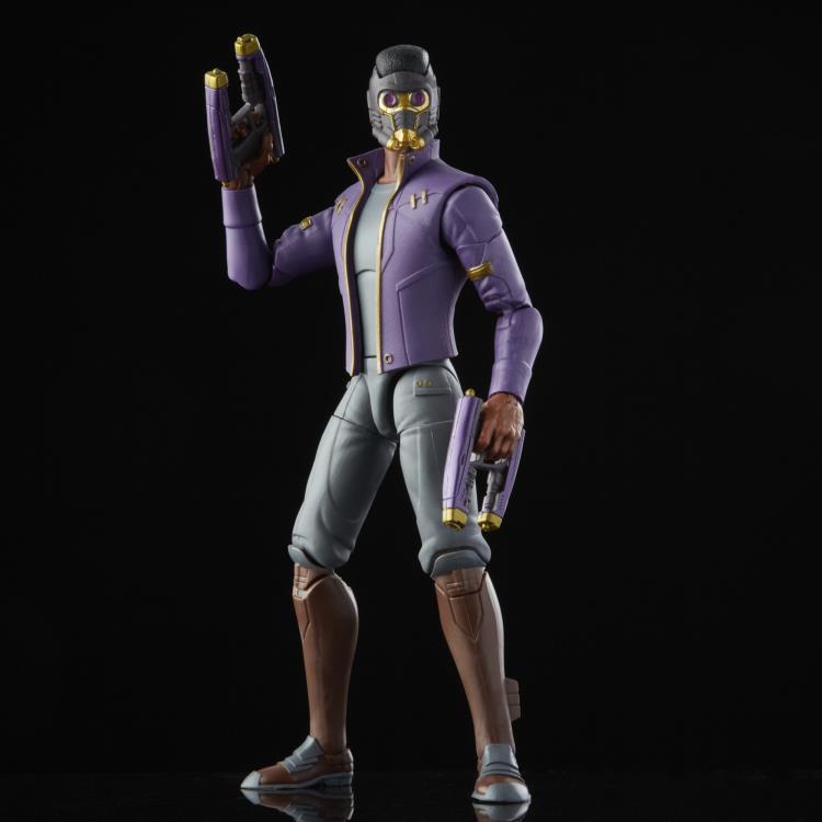 PRÉ VENDA: Action Figure Colecionável T'Challa Senhor das Estrelas Star-Lord: What If...? Marvel Legends Serie - Hasbro