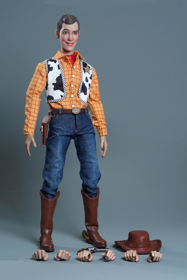 PRÉ VENDA: Action Figure Colecionável Xerife Woody: Toy Story Escala 1/6 Disney - Play Toy