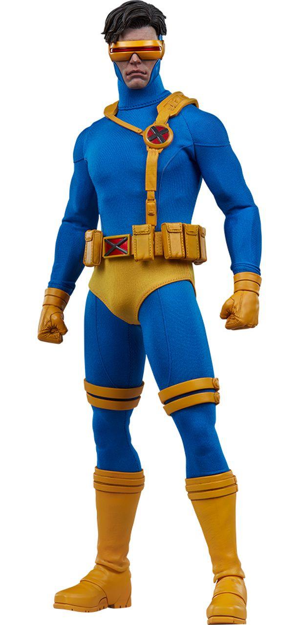 PRÉ VENDA Action Figure Cyclops: X-Men (Marvel) Escala 1/6 - Sideshow Collectibles