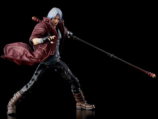 PRÉ VENDA Action Figure Dante: Devil May Cry 5 - Deluxe Version (Escala 1/12) Boneco Colecionável - 1000Toys