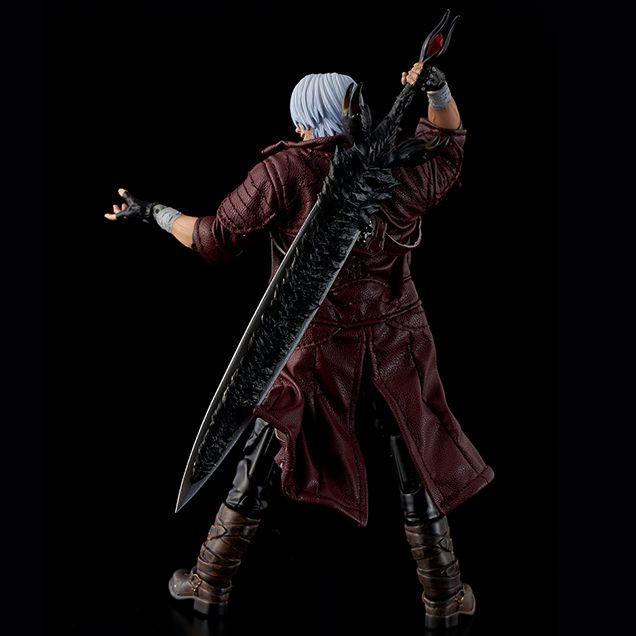 PRÉ VENDA Action Figure Dante: Devil May Cry 5 (Escala 1/12) Boneco Colecionável - 1000Toys