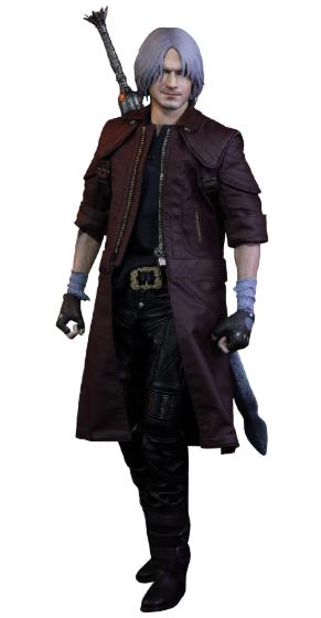 PRÉ VENDA: Action Figure Dante: Devil May Cry 5 (Series: DMC V) Standard Edition (Escala) 1/6 - Asmus Toys