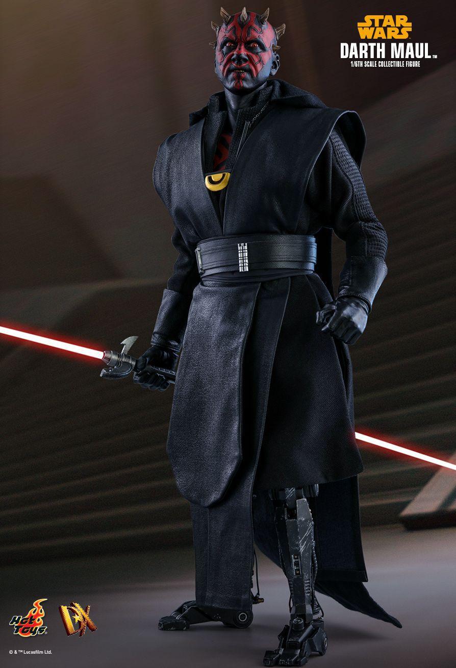 PRÉ VENDA: Action Figure Darth Maul: Han Solo Uma História Star Wars (A Star Wars Story) Boneco Colecioável (DX18) - Hot Toys