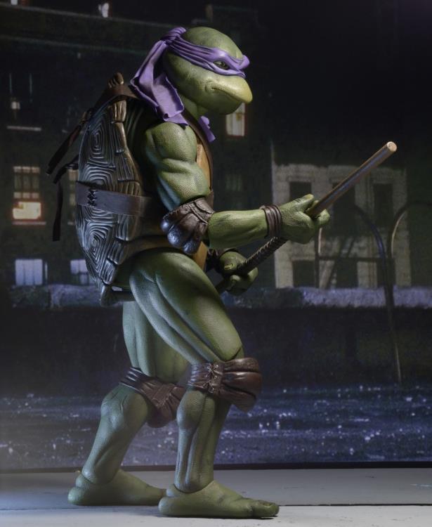 Action Figure Donatello: Tartarugas Ninja (Teenage Mutant Ninja Turtles 1990) Escala 1/4 - NECA
