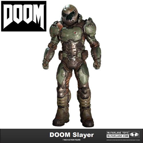 """PRÉ VENDA Action Figure Doom Slayer 7"""": Doom - Boneco Colecionável - Mcfarlane Toys"""