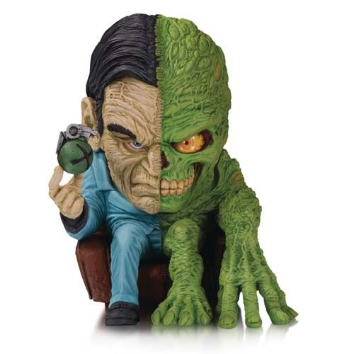 Action Figure Duas-Caras (Two Face): DC Artists Alley - By James Groman (Limited Edition) Boneco Colecionável - DC Collectibles